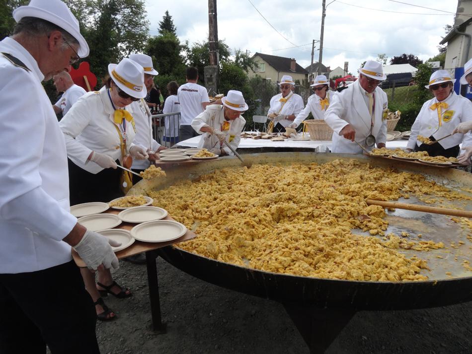 Omelette Génouillac 2016 (Creuse 23350)