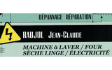Raujol Jean-Claude - dépannage - réparation - machine à laver - four - sèche linge - électricité
