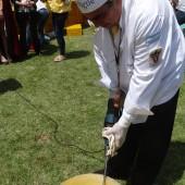 Omelette géante de Pigüé (Argentine) 2016