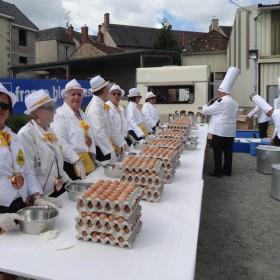 Omelette Génouillac (Creuse)